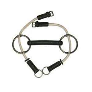 Rubber Gag Bit with Rope Runners